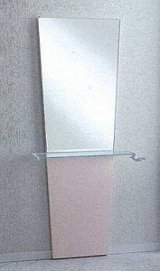 ブーケ片面鏡(壁付け)