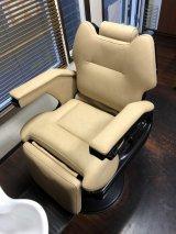 パイオニア製 理容椅子  張替(L-2434)