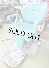 タカラ 理容椅子 SP 再生品(直上タイプ、背ノーマル)
