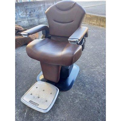 画像1: タカラ 理容椅子 ランサー 中古品